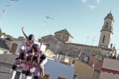 """Diada de El Catllar. """"aleta"""" Jove de Tarragona"""