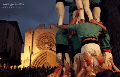 Tarragona ciutat de castells. Colla SPiSP